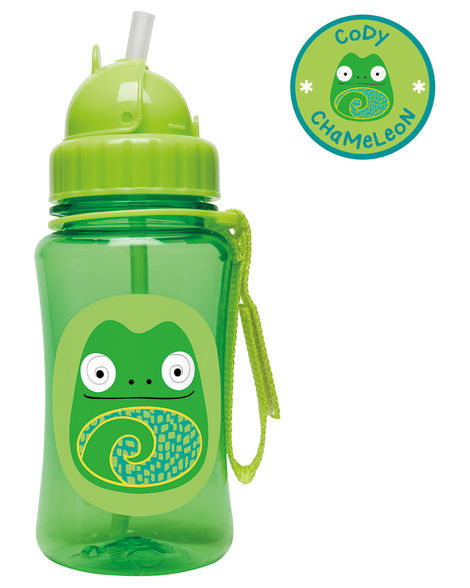 Skip Hop: Zoo Straw Bottle - Chameleon