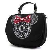 Loungefly Disney Minnie Mouse Mandala Crossbody Bag