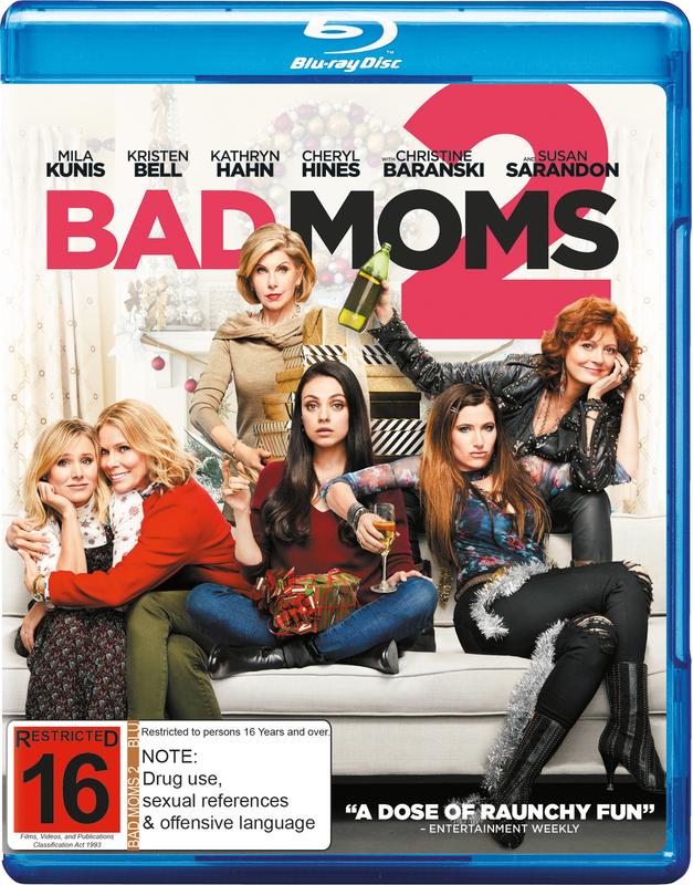 Bad Moms 2 on Blu-ray