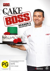 Cake Boss - Season 9: Collection 2 on DVD