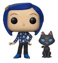 Coraline - Coraline (with Cat) Pop! Vinyl Figure