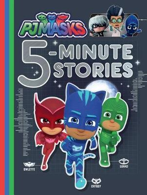 Pj Masks 5-Minute Stories by Various ~ image
