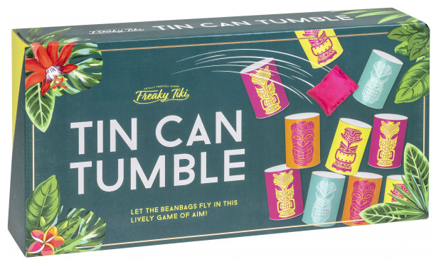 Freaky Tiki: Tin Can Tumble - Garden Game