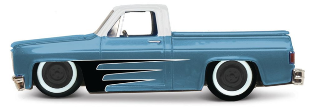 Maisto: 1:64 Die-Cast Vehicle - Design Outlaws (Metallic Blue)