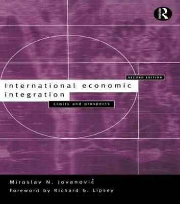 International Economic Integration by Miroslav Jovanovic image