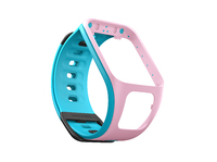 TomTom Spark Watch Strap Light Pink/Scuba Blue (Small)