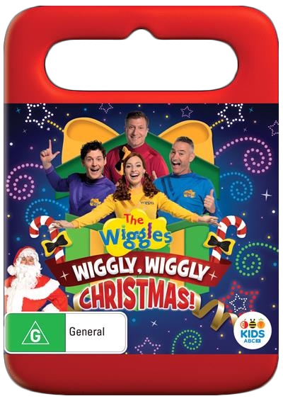 The Wiggles: Wiggly, Wiggly, Christmas on DVD image