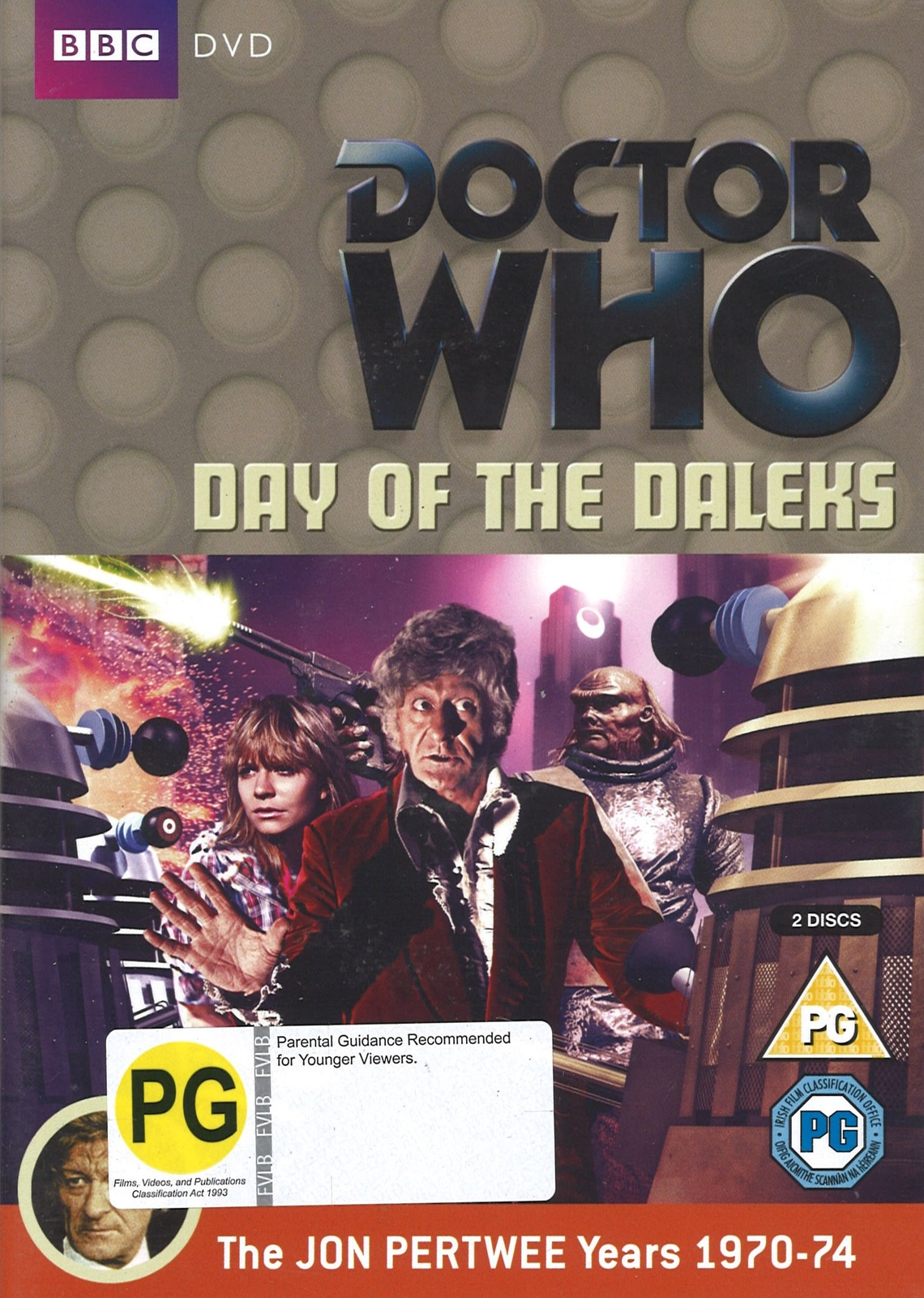 Doctor Who Day Of The Daleks Dvd On Sale Now At