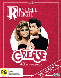 Grease - 40th Anniversary (Special Edition) on Blu-ray