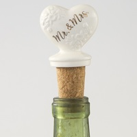 Natural Life: Bottle Stopper - Mr & Mrs image