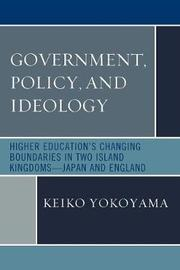 Government, Policy, and Ideology by Keiko Yokoyama image