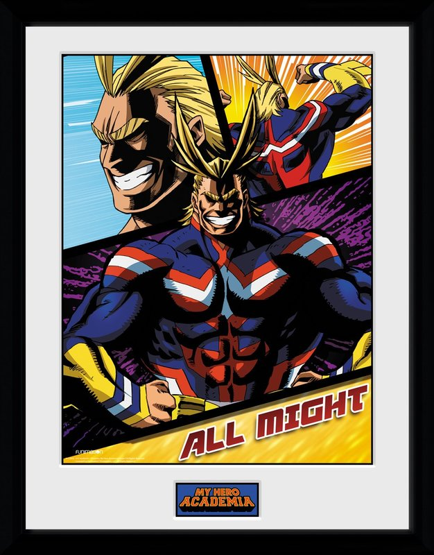 My Hero Academia: All Might Panels - Collector Print (41x30.5cm)