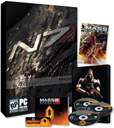 Mass Effect 2 Tin Case Collector's Edition for PC Games