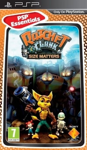 Ratchet & Clank: Size Matters (Essentials) for PSP