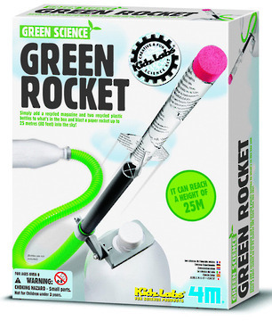 4M Green Science - Green Rocket