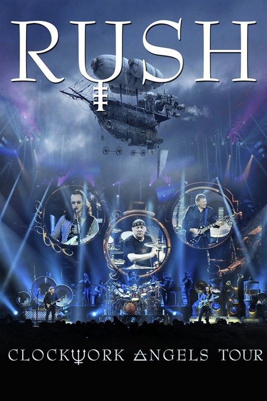 Rush - Clockwork Angels Tour on DVD