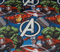 Avengers Book Covering