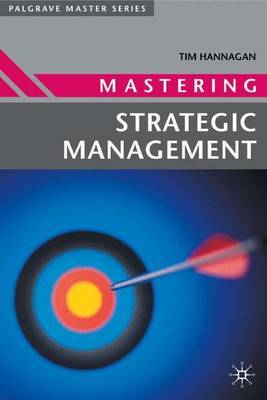 Mastering Strategic Management by Tim Hannagan image