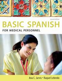 Spanish for Medical Personnel by Ana C Jarvis image