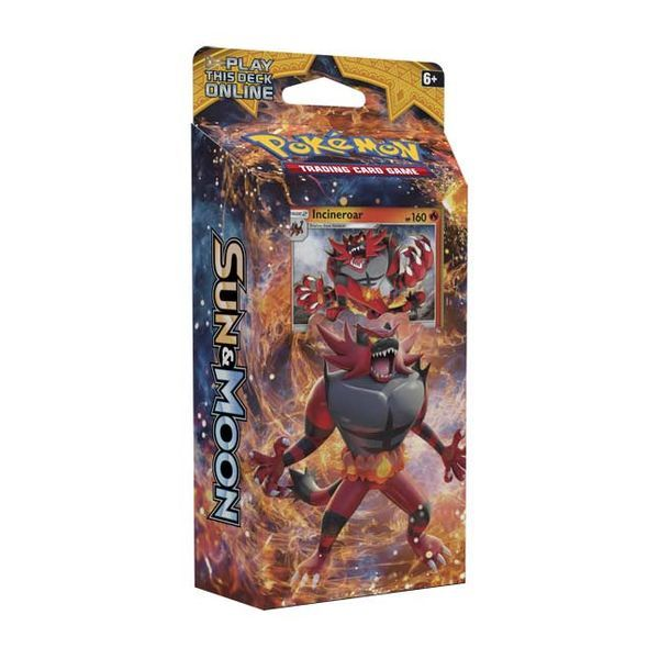 Pokemon TCG Sun & Moon Theme Deck: Roaring Heat