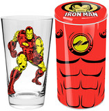 Marvel Iron Man Glass in Tin