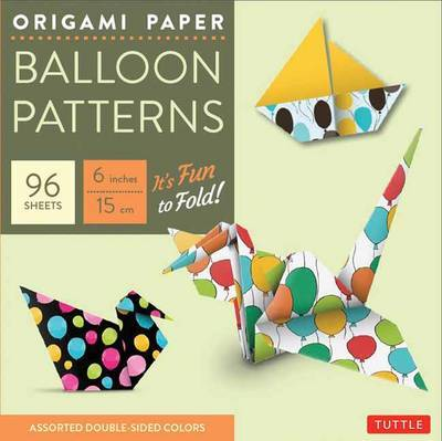 Buy Origami Paper Balloon Patterns 6 Size 96 Sheets At