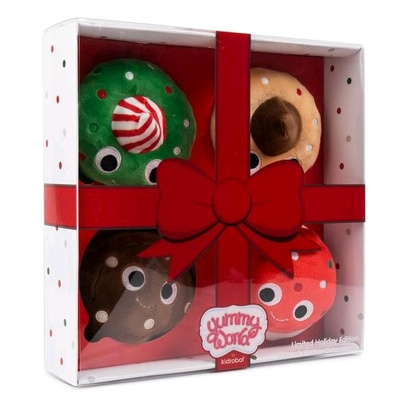 Yummy World - Cookie Squad Holiday 4-Pack Plush