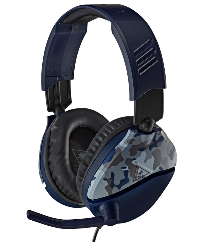 Turtle Beach Ear Force Recon 70 Gaming Headset - Blue Camo for PS4