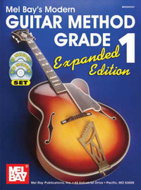 Modern Guitar Method Grade 1 with DVD by William Bay image