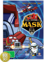 M.A.S.K. Collection 1 (4 Disc Box Set) on DVD