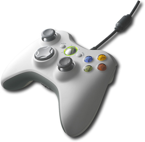 Xbox 360 Wired Controller White (PC Compatible)
