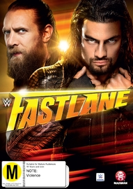 WWE - Fast Lane 2015 on DVD