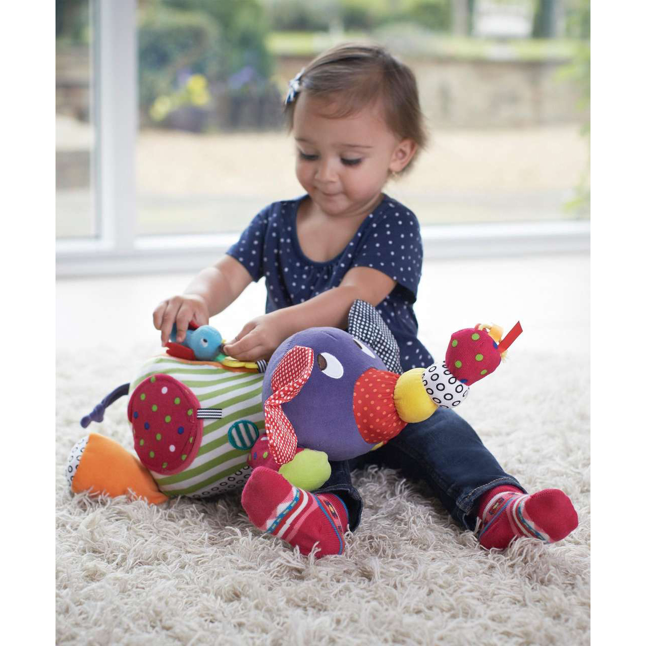 Mamas & Papas: Activity Toy - Large Elephant image