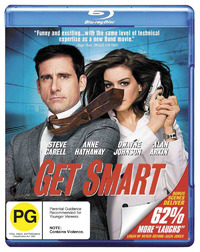 Get Smart (2008) on Blu-ray