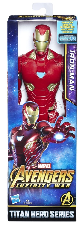 "Avengers Infinity War: Iron Man - 12"" Titan Hero Figure"