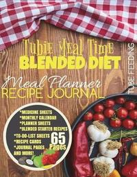 Tubie Meal Time Recipe Journal by Petty Colors image