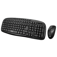 Adesso: 2.4 GHz Wireless Desktop Keyboard and Mouse Combo
