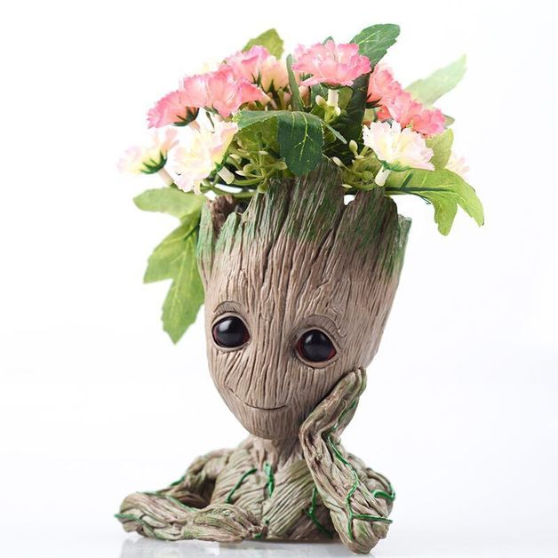 I am Planter - Tree Man Flower Pot Doll