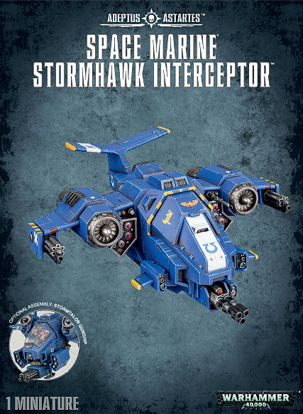 Warhammer 40,000 Space Marine Stormhawk Interceptor image