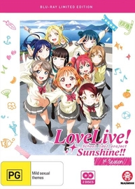 Love Live! Sunshine!! - Complete Season 1 (Limited Collector's Edition) on Blu-ray