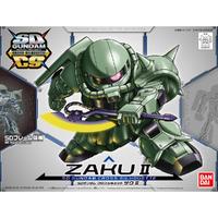 SD Gundam Cross Silhouette Zaku II - Model Kit