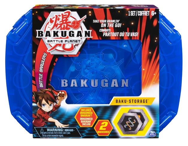 Bakugan: Baku-Storage Case - (Blue)