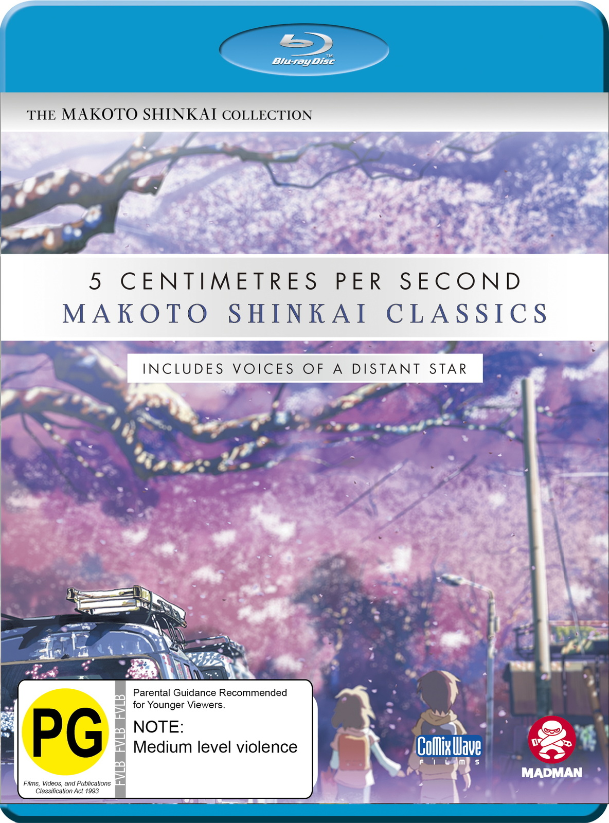 Makoto Shinkai Classics: 5 Centimetres Per Second / Voices Of A Distant Star on Blu-ray image