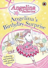 Angelina's Birthday Surprise: Colouring Activity Book image