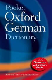 Pocket Oxford German Dictionary image