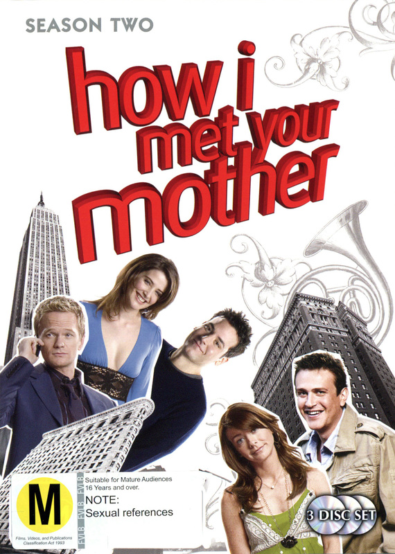How I Met Your Mother - Season 2 (3 Disc Set) on DVD