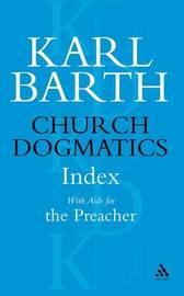 Church Dogmatics Classic Nip Index by Barth