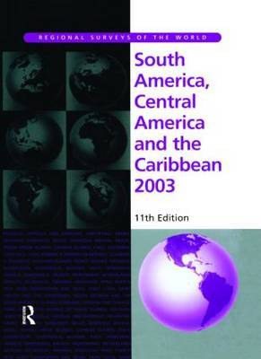 South America, Central America and the Caribbean by Europa Publications