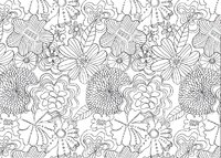 The Mindfulness Colouring Book by Emma Farrarons image