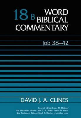 Job 38-42: WBC Volume 18B by David J.A. Clines image